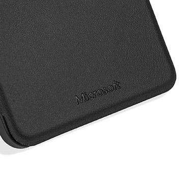 Official Microsoft Lumia 640 XL Wallet Cover Case - Black