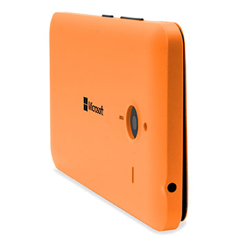 Official Microsoft Lumia 640 XL Wallet Cover Case - Orange