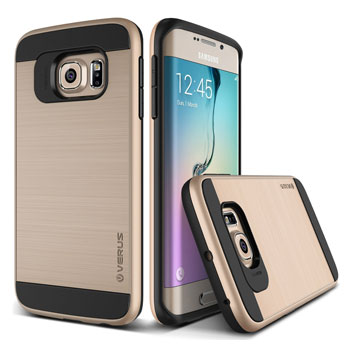 Verus Verge Series Samsung Galaxy S6 Edge Case - Gold