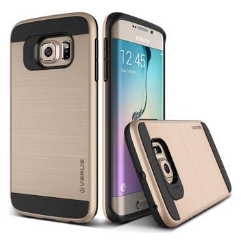 Verus Verge Series Samsung Galaxy S6 Edge Case - Gold
