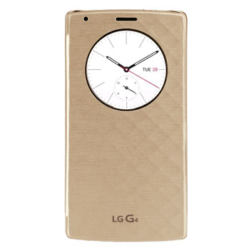 LG G4 QuickCircle Snap On Case - Gold
