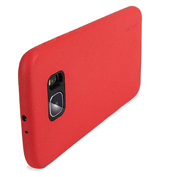 G-Case Leather-Style Samsung Galaxy S6 Protective Case - Red