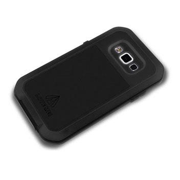 Love Mei Powerful Samsung Galaxy A5 Bumper Protective Case - Black