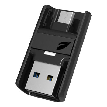 Leef Bridge 3.0 Micro USB Mobile Storage Drive 32GB - Black