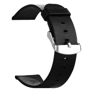 Baseus 38mm Apple Watch Leather Strap - Black