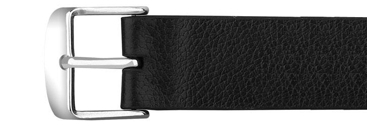 Baseus 42mm Apple Watch Leather Strap - Black