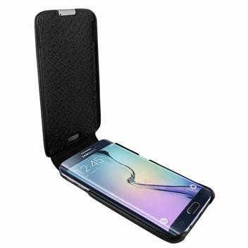 Piel Frama iMagnum Samsung Galaxy S6 Edge Flip Case - Back