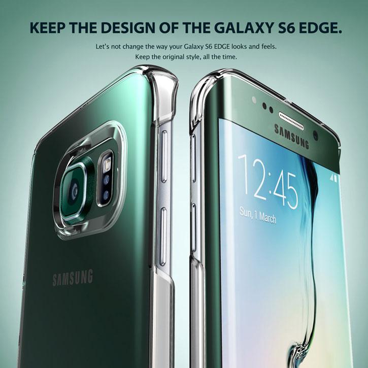 Rearth Ringke Slim Samsung Galaxy S6 Edge Case - Royal Gold