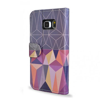 Create and Case Samsung Galaxy S6 Edge Book Case - Nordic Combination