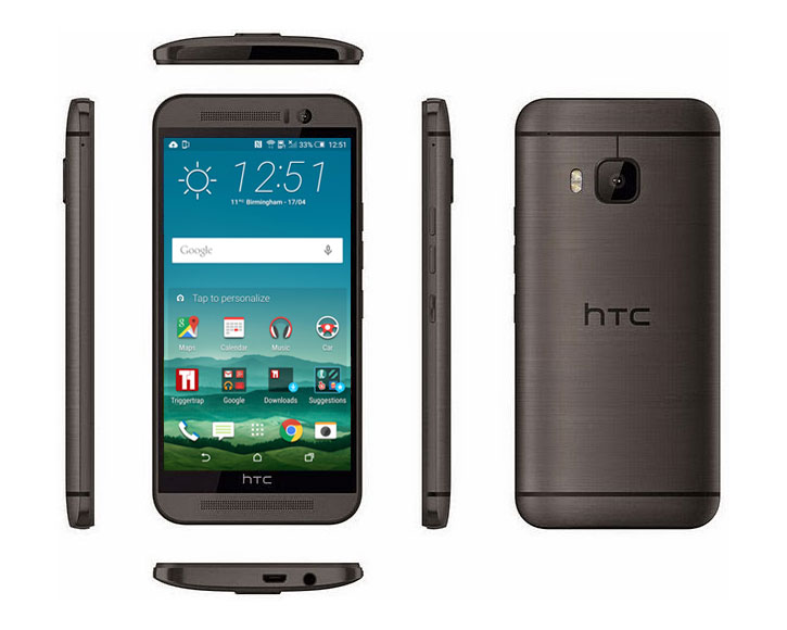 SIM Free HTC One M9 - Gunmetal Grey 32GB