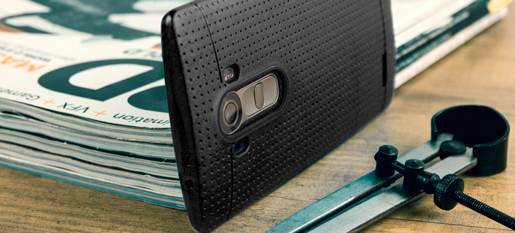 FlexiShield Dot LG G4 Case - Black