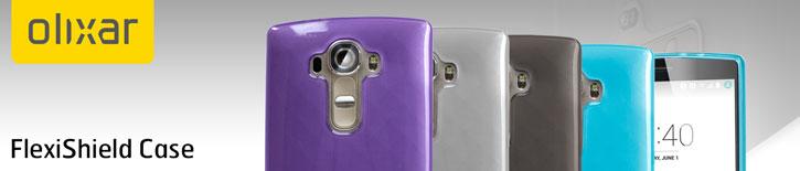 FlexiShield LG G4 Gel Case - Frost White