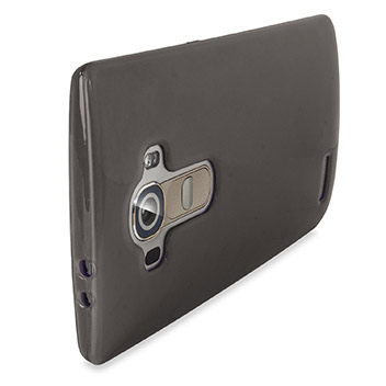 FlexiShield LG G4 Gel Case - Smoke Black