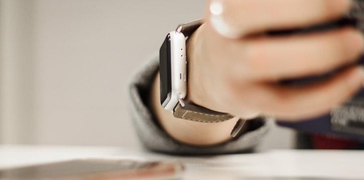 Chicago 42mm Apple Watch Series 2 / 1 Genuine Leather Strap - Brown