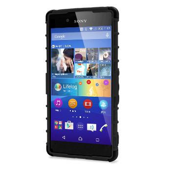 ArmourDillo Sony Xperia Z3+ Protective Case - Black