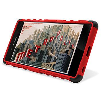 ArmourDillo Sony Xperia Z3+ Protective Case - Red