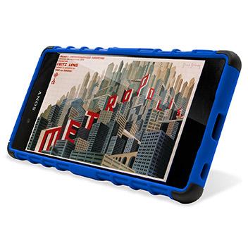 ArmourDillo Sony Xperia Z3+ Protective Case - Blue