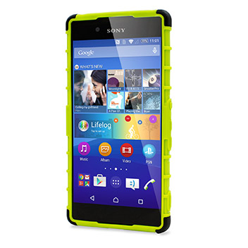 ArmourDillo Sony Xperia Z3+ Protective Case - Green