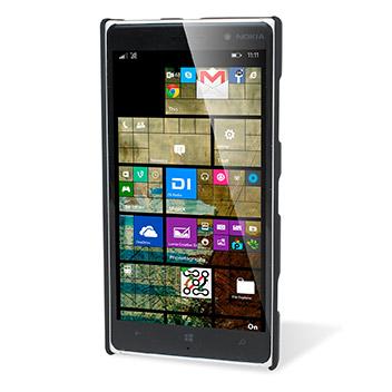 Olixar Rubberised Nokia Lumia 830 Hard Shell Case - Black
