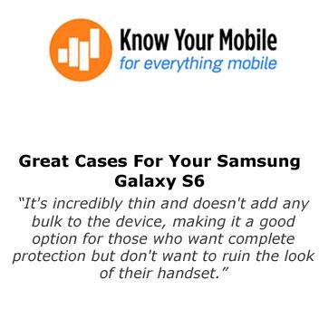 Olixar FlexiShield Ultra-Thin Samsung Galaxy S6 Gel Case Review