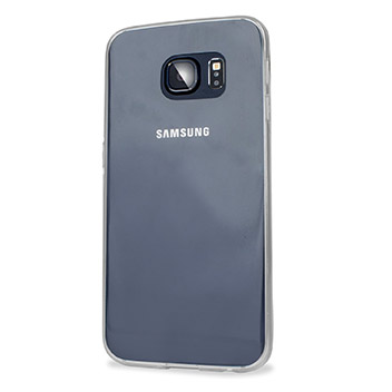 FlexiShield Ultra-Thin Samsung Galaxy S6 Edge Gel Case - 100% Clear