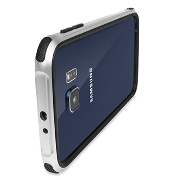 X Doria Defense Gear Samsung Galaxy S6 Metal Bumper Case - Silver