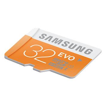Samsung 32GB MicroSDHC EVO Card - Class 10
