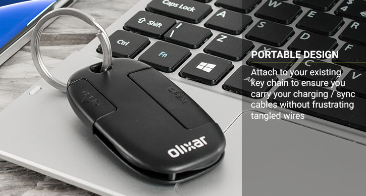 Olixar 2-in-1 Micro USB and Lightning Cable Key