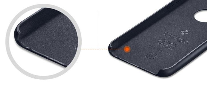 Spigen Leather Fit iPhone 6 Shell Case - Olive Brown