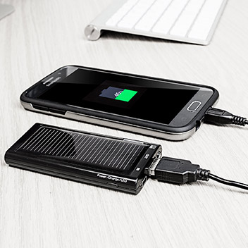 Energenie Solargenie Mini Charger Solar Power Bank with Adapters