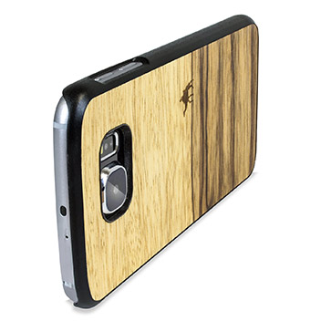 Man&Wood Samsung Galaxy S6 Wooden Case - Terra