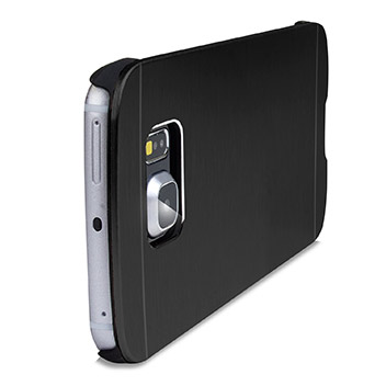 Olixar Aluminium Samsung Galaxy S6 Edge Shell Case - Black