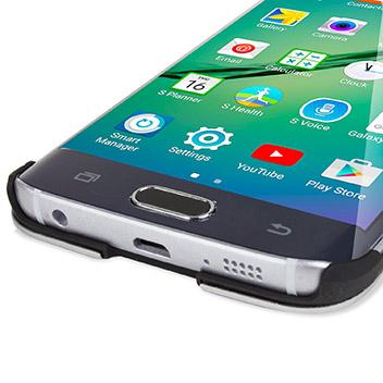 Olixar Aluminium Samsung Galaxy S6 Edge Shell Case - Silver