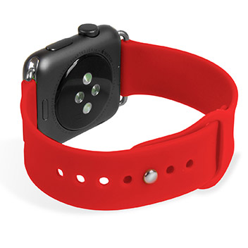 Bracelet Apple Watch 2 / 1 Sport Silicone - 42mm - Rouge