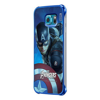 Official Samsung Marvel Avengers Galaxy S6 Case - Captain America