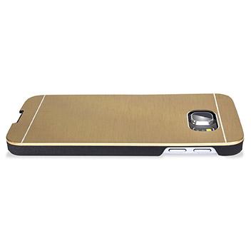 Olixar Aluminium Samsung Galaxy S6 Shell Case - Gold