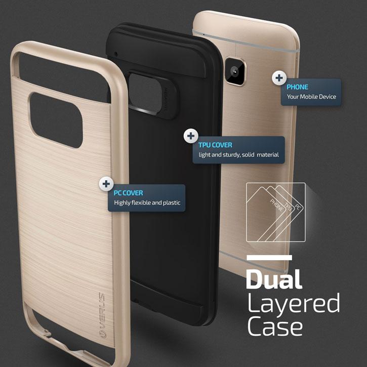 Verus Verge Series HTC One M9 Case - Shine Gold