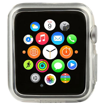 Baseus Apple Watch Transparent Shell Case - 42mm - Twin Pack