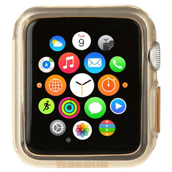 Baseus Apple Watch Shell Case - 42mm - Gold / Clear
