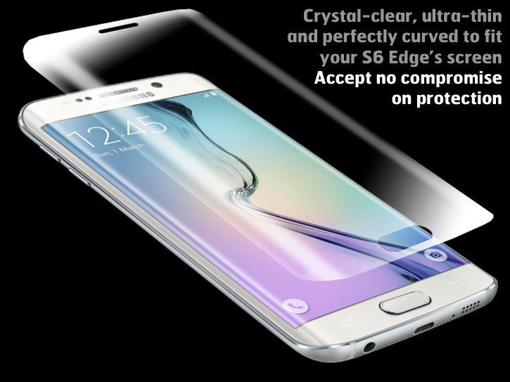 Olixar Samsung Galaxy S6 Edge Full Screen Protector