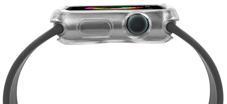 Olixar Soft Protective Apple Watch Case - 38mm - Clear