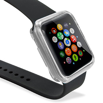 Olixar Soft Protective Apple Watch Case - 42mm - Clear