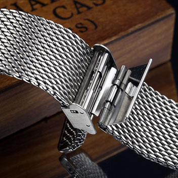 Olixar Apple Watch Classic Stainless Steel Strap - 38mm - Silver