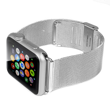 Apple Watch Elegant Stainless Steel Strap - 42mm - Silver