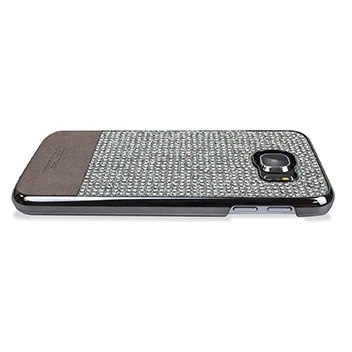 Samsung Galaxy S6 Persian Neo Bling Case - Silver