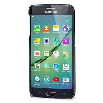 Samsung Galaxy S6 Edge Bling Case with Swarovski Elements - Grey