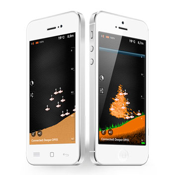 Deeper Fishfinder Bluetooth Fish Locator for Smartphones & Tablets