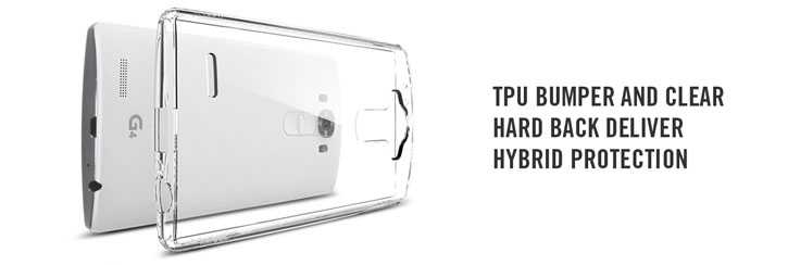 Spigen Ultra Hybrid LG G4 Case - Crystal Clear