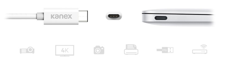 Kanex USB-C to USB Female Adapter - Short Cable