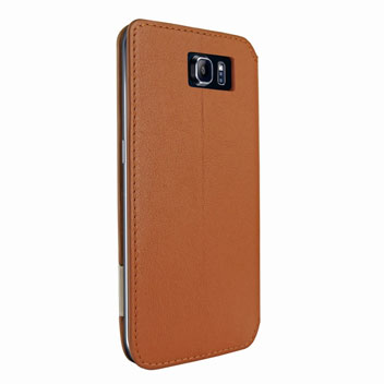 Piel Frama FramaSlim Samsung Galaxy S6 Edge Leather Case - Tan